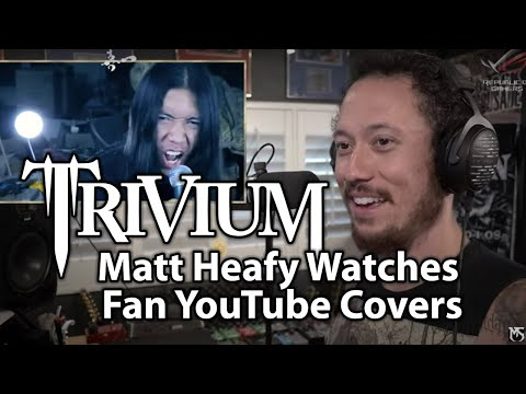TRIVIUM's Matt Heafy Watches Fan YouTube Covers