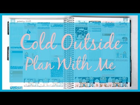 Plan With Me! Cold Outside | Nicole Alexia Designs