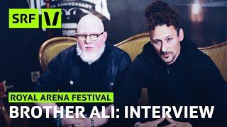 Royal Arena: Brother Ali im Interview über Wahrheit, Gott und Sex | Festivalsommer 2019 | SRF Virus
