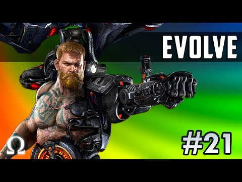 MONSTER HUNTING TIME! | Evolve Stage 2 #21 Hunter Gameplay ft. Cartoonz, Delirious, Gorilla