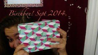BIRCHBOX! September 2014. Thumbnail