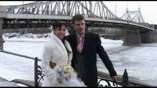 Свадьба в твери. прогулка ранней весной