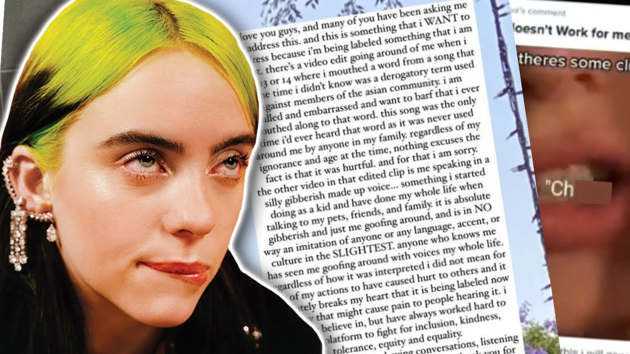 Billie Eilish Is 'Incredibly Ashamed & Embarrassed' About Her Checkered Past! | Hollywire
