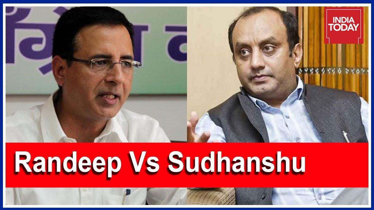 The Big Rafale Showdown: Randeep Surjewala Vs Sudhanshu Trivedi Debate On Newsroom