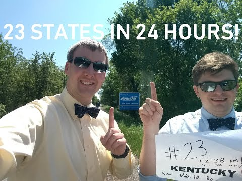 Pair of UM grads say they broke world record, visited 23 states in 1 day