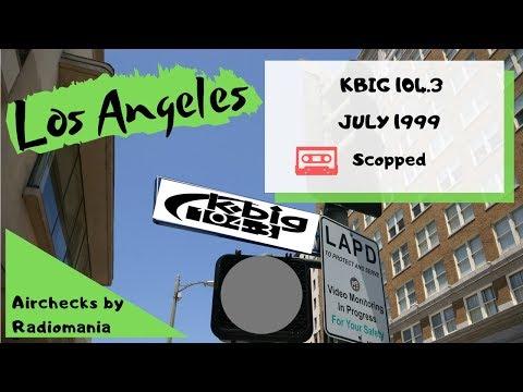 KBIG 104 3 LOS ANGELES LANCE BALLANCE  JULY 1999