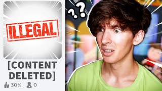 How illegal can Roblox games get?