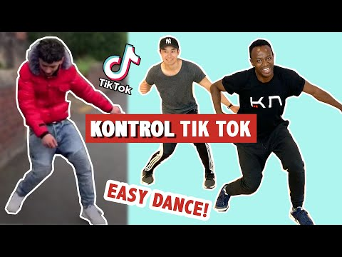 KONTROL TIK TOK (EASY DANCE) | TUTORIAL