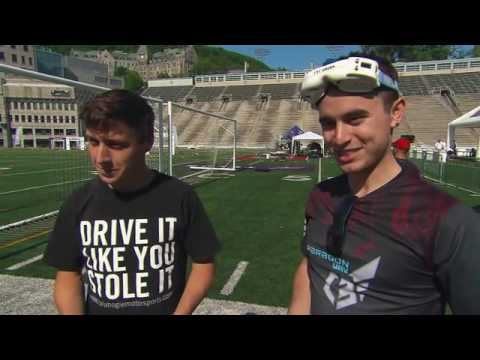 Montreal Drone Expo at Discovery channel daily planet