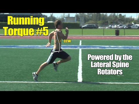 Athletic Running Speed Torque #5: Lateral Rotators of the Spine