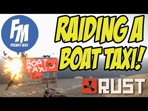 RAIDING A BOAT TAXI BASE! | Rust Solo Survival S22E03 thumbnail