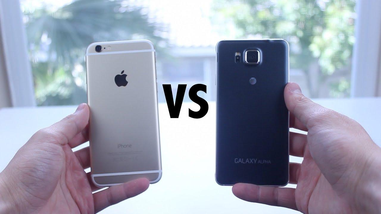 IPhone 6 Vs Samsung Galaxy Alpha
