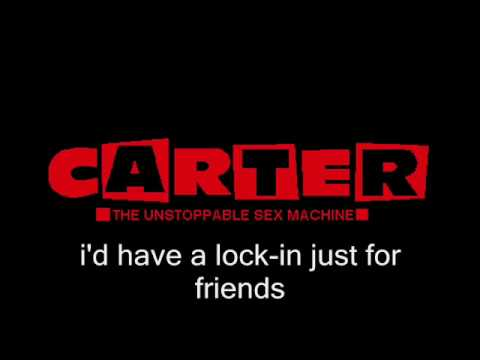 CARTER USM -- This One's For Me