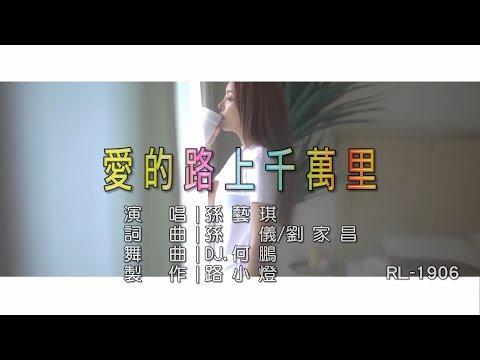 孫藝琪 | 愛的路上千萬里 | (DJ版) | (1080P)KTV