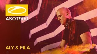 Aly & Fila live at A State Of Trance 900 (Madrid - Spain)