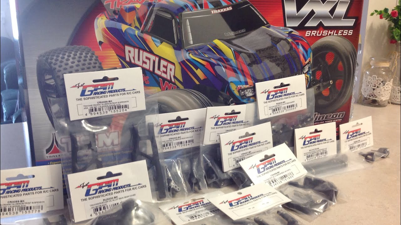 New 70+ Mph Rustler Vxl Aluminium / Alloy Parts (Gpm Racing Parts)-RC  Overdose