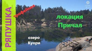 Русская рыбалка 4 озеро Куори Ряпушка с длинного мыса