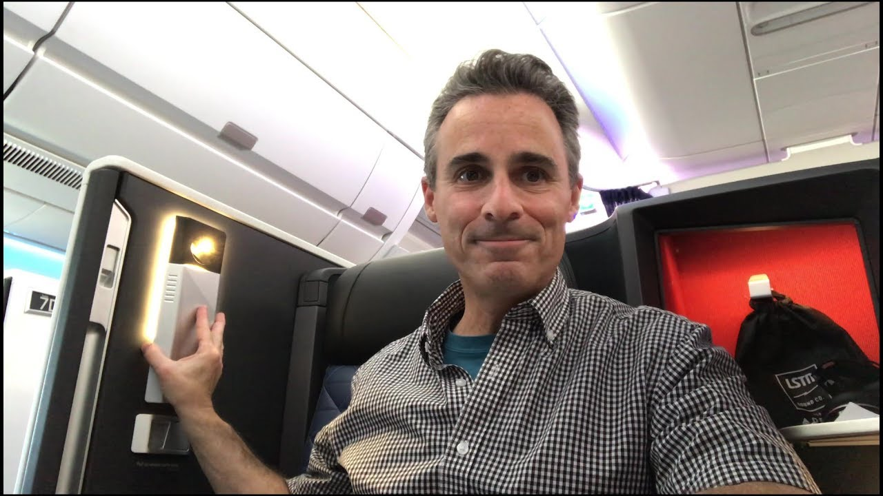 Delta One Suite A350 How to Turn On Reading Light