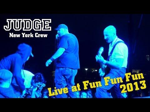 """Judge - """"New York Crew"""" Live at Fun Fun Fun Fest 2013"""