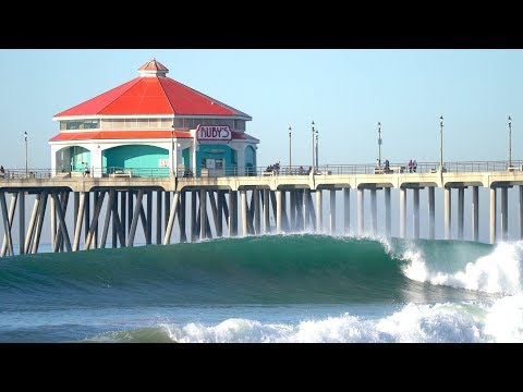 Surfing HB Pier | November 24th | 2019 (REEL)