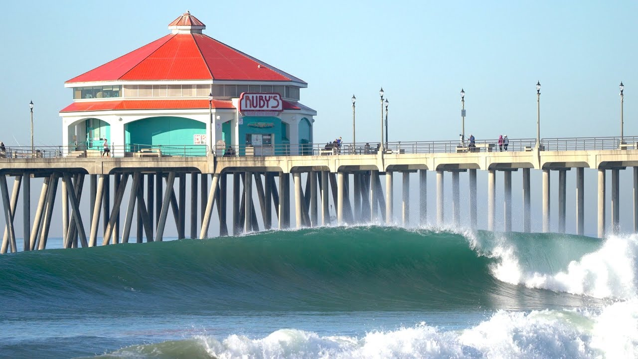Surfing Huntington Beach Pier | November 24th 2019