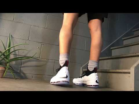 sale retailer dd1c1 ce65b LeBron 15 (Graffiti) - On Feet - YouTube