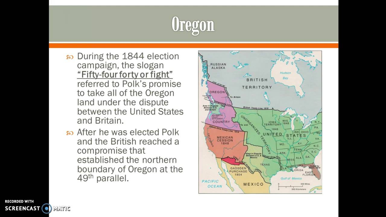 sectionalism and manifest destiny 1840 1860