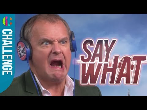 Paddington 2  Hugh Bonneville takes the Say What CHALLENGE!