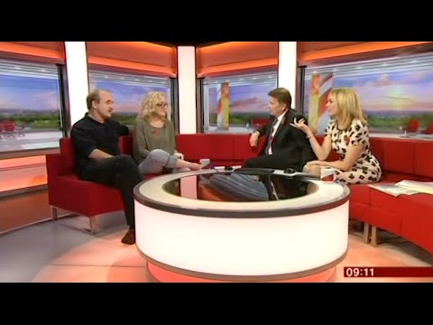 David Haig & Sophie Thompson on BBC Breakfast  Guys & Dolls