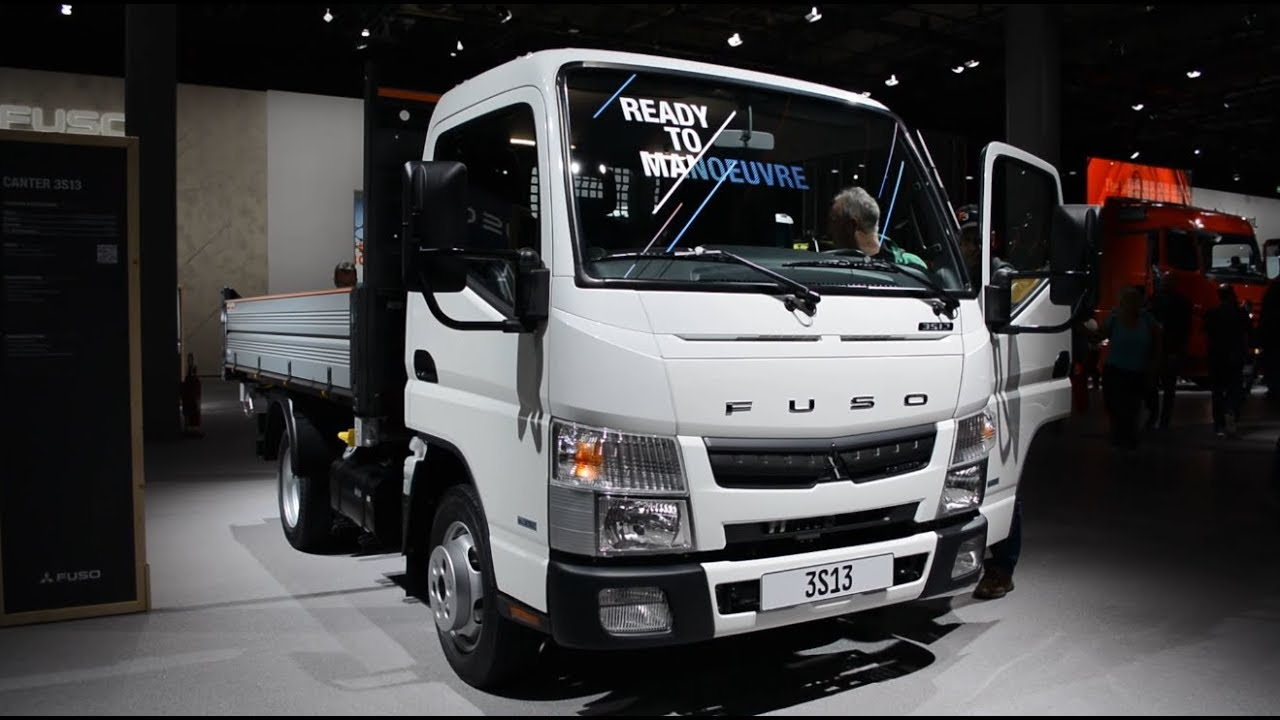 2019 New Fuso Canter 3s13 Exterior And Interior Youtube