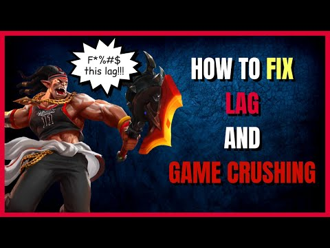 8 CAUSES OF LAG & HOW TO FIX THEM! - Mobile Legends: Bang Bang