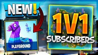1v1ing Subscribers! / 120+Wins *Pro Fortnite Player* / Huge Giveaway At 2k!