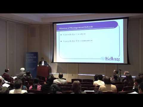 Deans Lecture Dipak C. Jain