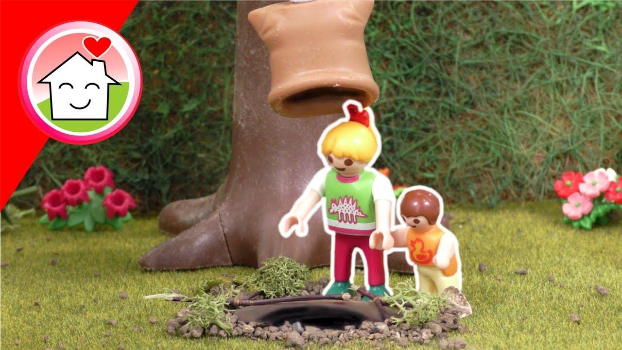 Download Playmobil Familie Hauser - Die Falle im Garten - Geschichte mit Anna und Lena