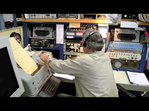 Morse radio station K6KPH/KSM in California, USA