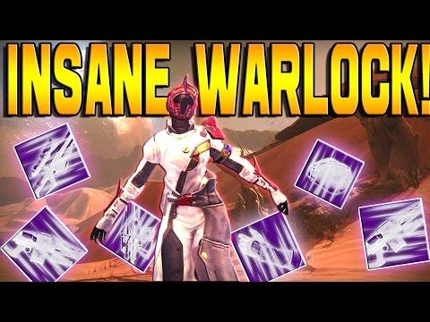 "Destiny - WARLOCK ""INSANE"" OPENING LEGENDARY ENGRAMS!"