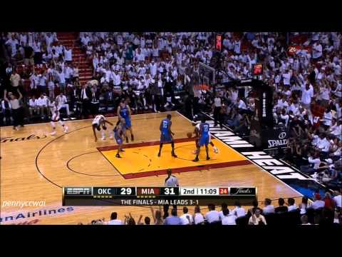 Mike Miller 7 three-pointers win Miami Heat a NBA Championship 2012