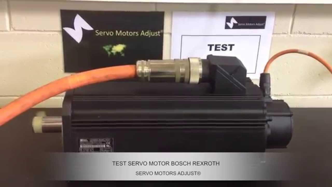 Reparaci N De Servo Motores Servo Motor Repair Bosch
