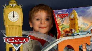 Игрушки из мультика Тачки 2 на русском. Тачки Маквин. Disney Cars 2 Track Set - Big Bentley Breakout