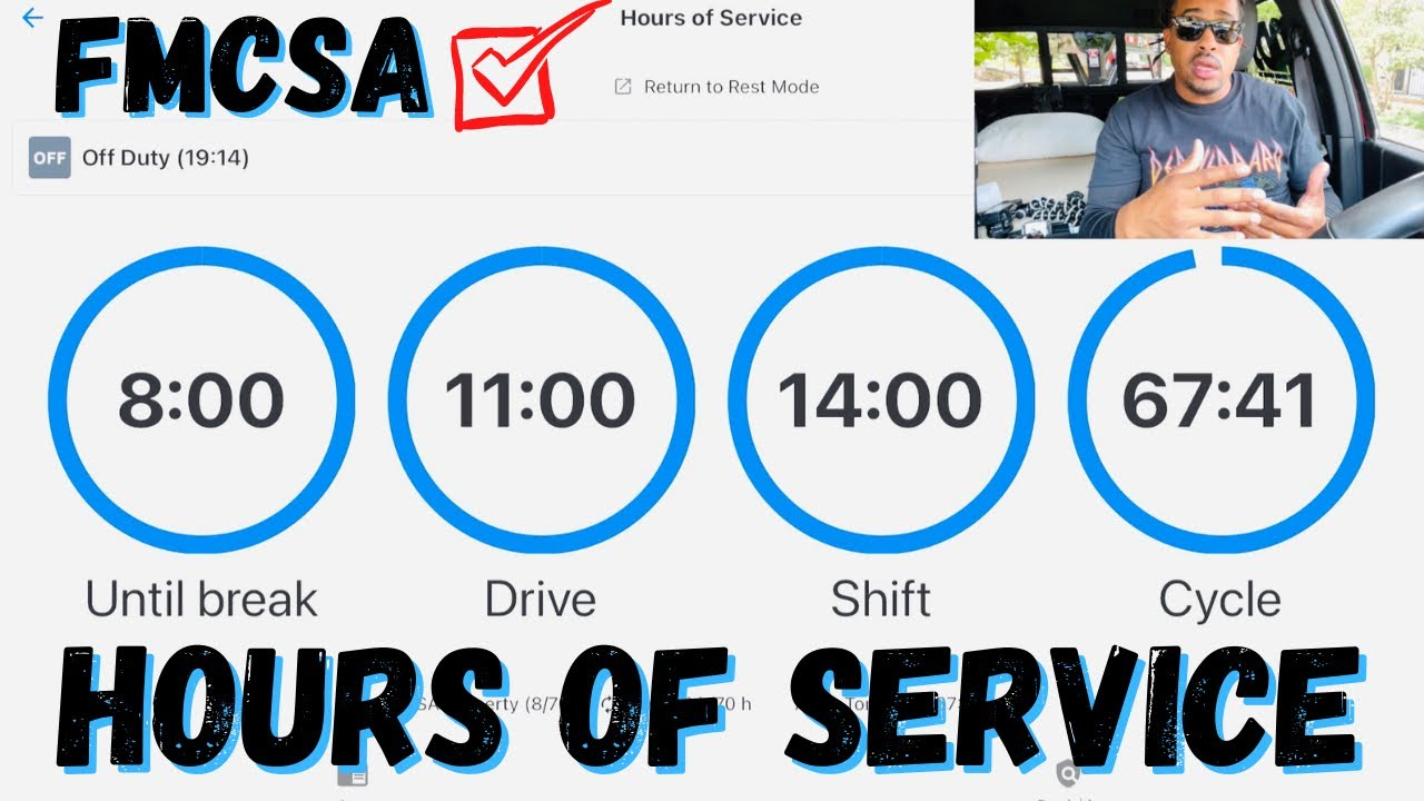 Hours Of Service Explained with ELD   Ways To Maximize your Shift   Non-CDL Hotshot Trucking