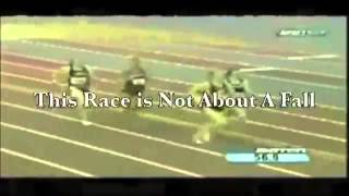 Heather Dorniden the race - Never Give Up