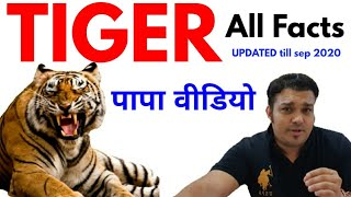 tigers papa pic video by studyforcivilservices tiger reserve in india map tricks tiger census 2020