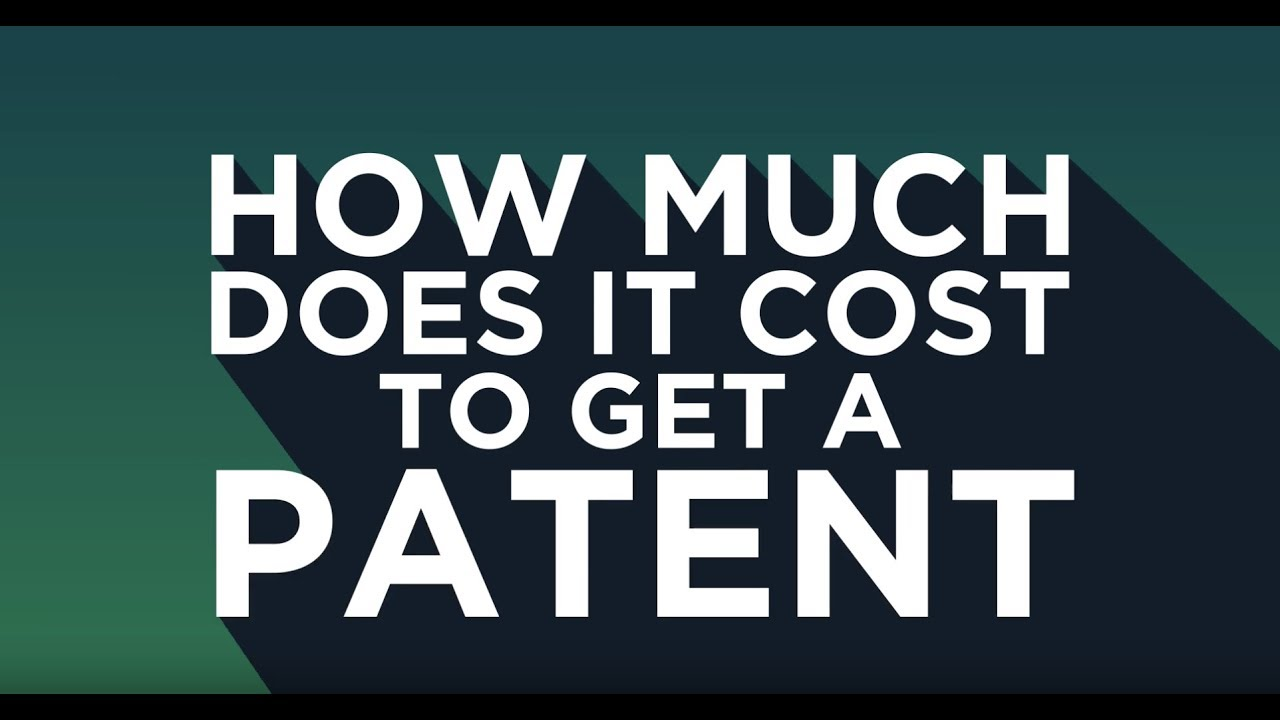 FishFAQs 002: How much does it cost to get a patent? - YouTube