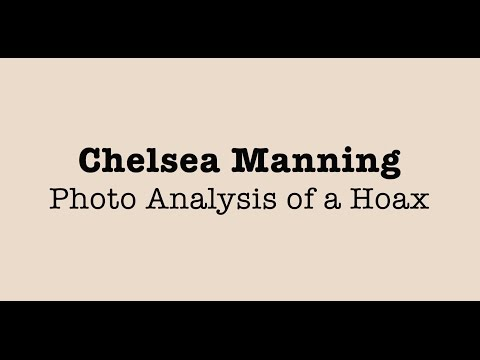 Photo Analysis: Is 'Chelsea' Manning a Hoax?
