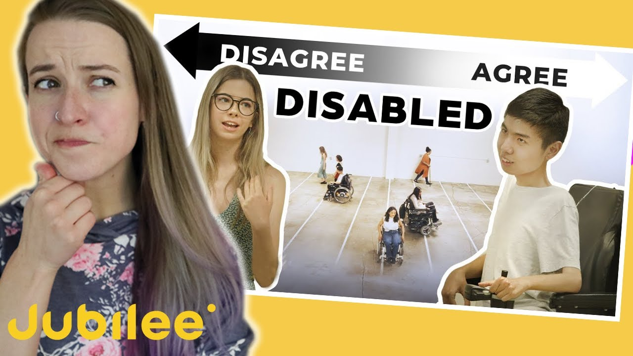 Amputee Reacts: @Jubilee Do All Disabled People Think The Same?