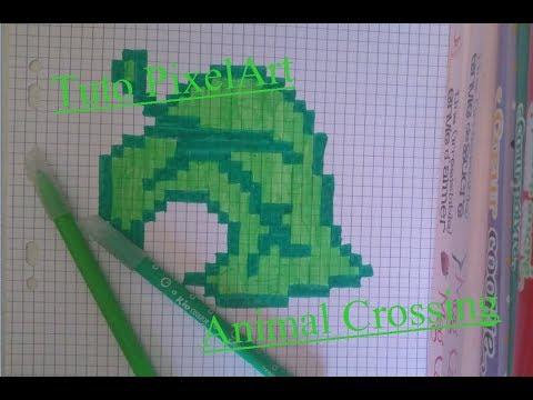 Tuto Pixelart 16 Logo Animal Crossing Youtube