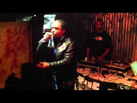 King Com Performs At The Art Of Lyrics in Harlem