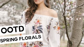 OOTD: Florals for Spring // BLOG ISTIANA