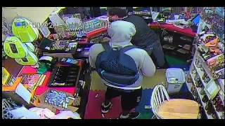 Armed business robbery 09-08-2015 (Video 2)