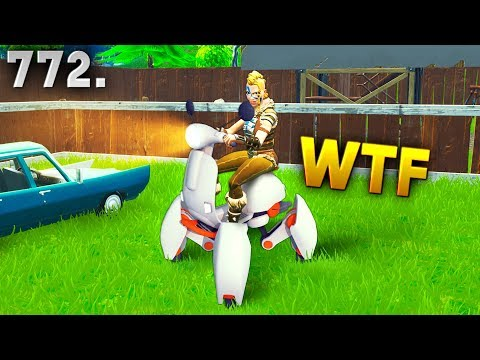 Fortnite Funny WTF Fails and Daily Best Moments Ep.772
